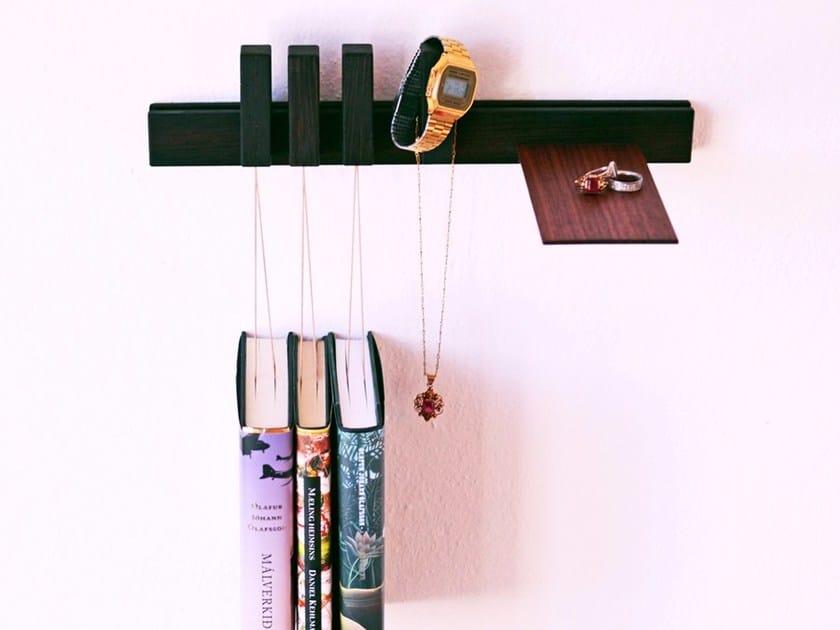 Wall-mounted wenge bedside table NIGHTSTAND | Wenge bedside table by AGUSTAV
