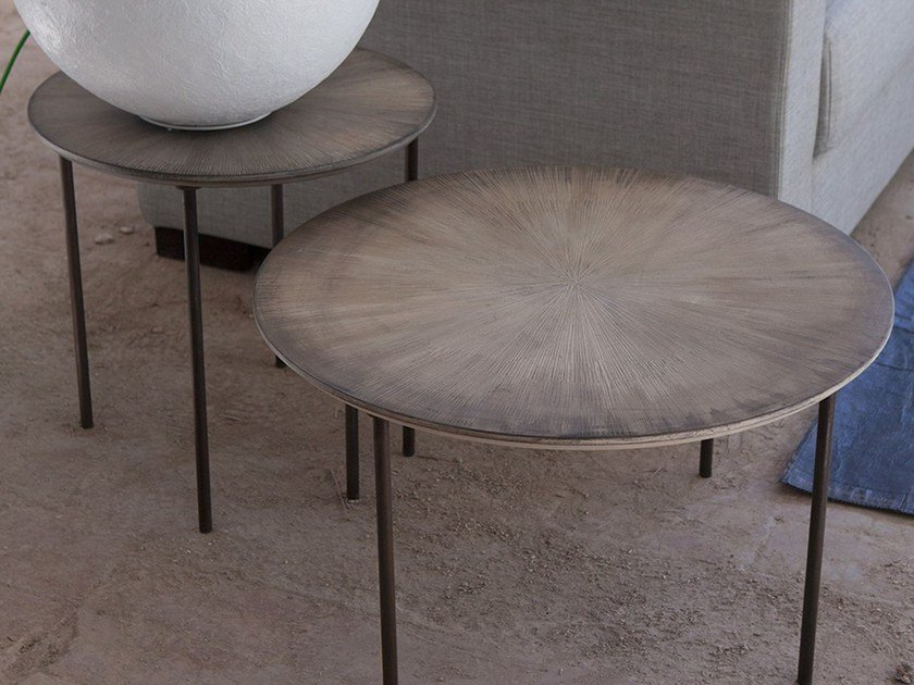 Round MDF coffee table TAVOLINI | Contemporary style coffee table by Domingo Salotti