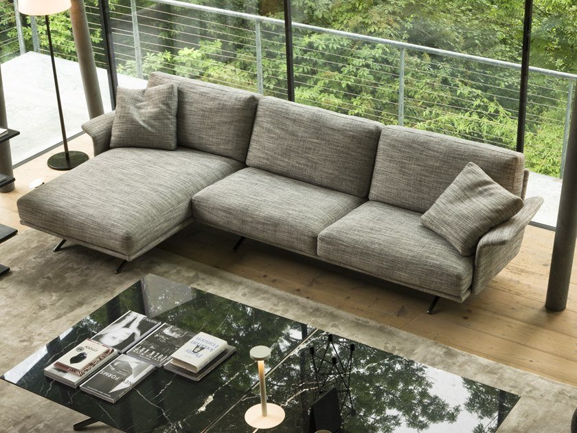 3 Seater Sofa With Chaise Longue Nilson