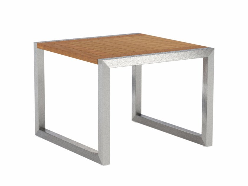 NINIX Teak Coffee Table Ninix Collection By Royal Botania Design - Teak side table with drawer