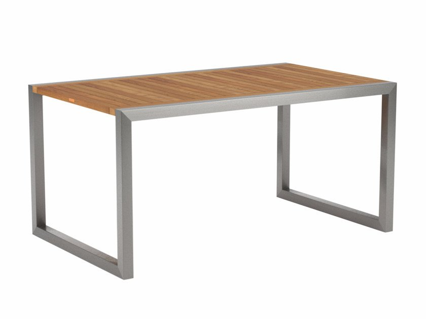 Rectangular teak garden table NINIX | Teak table by Royal Botania