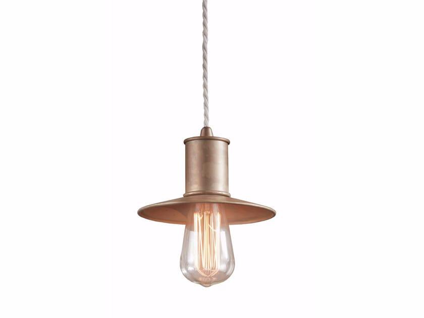 Direct light brass pendant lamp NIO | Pendant lamp by Gibas