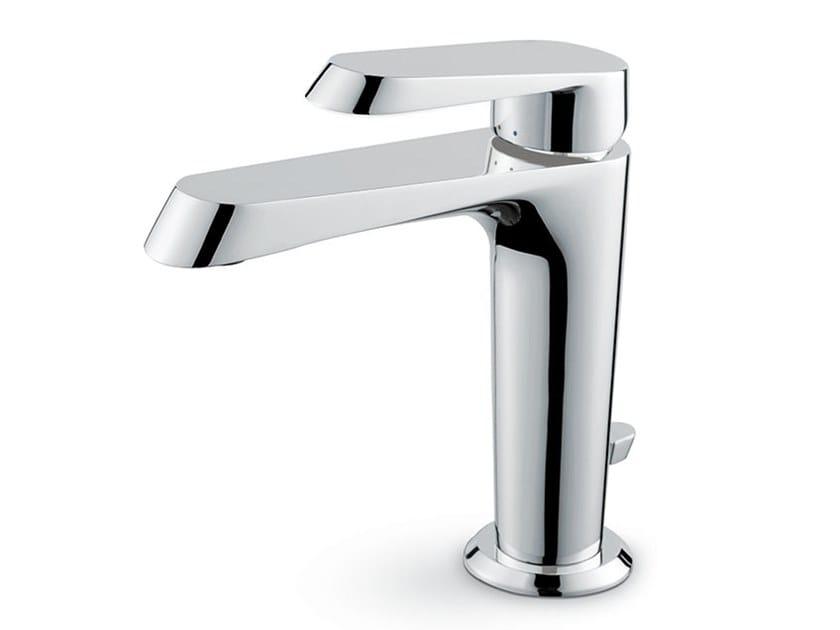 Miscelatore per lavabo monocomando con piletta NIO | Miscelatore per lavabo con piletta by newform