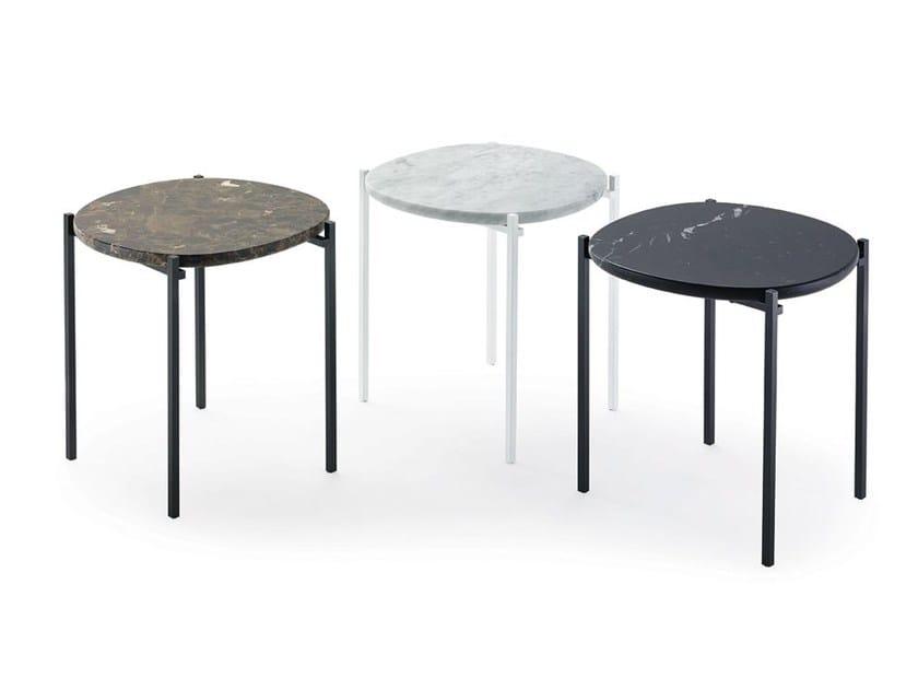 Round coffee table NIOBE 648 by Zanotta