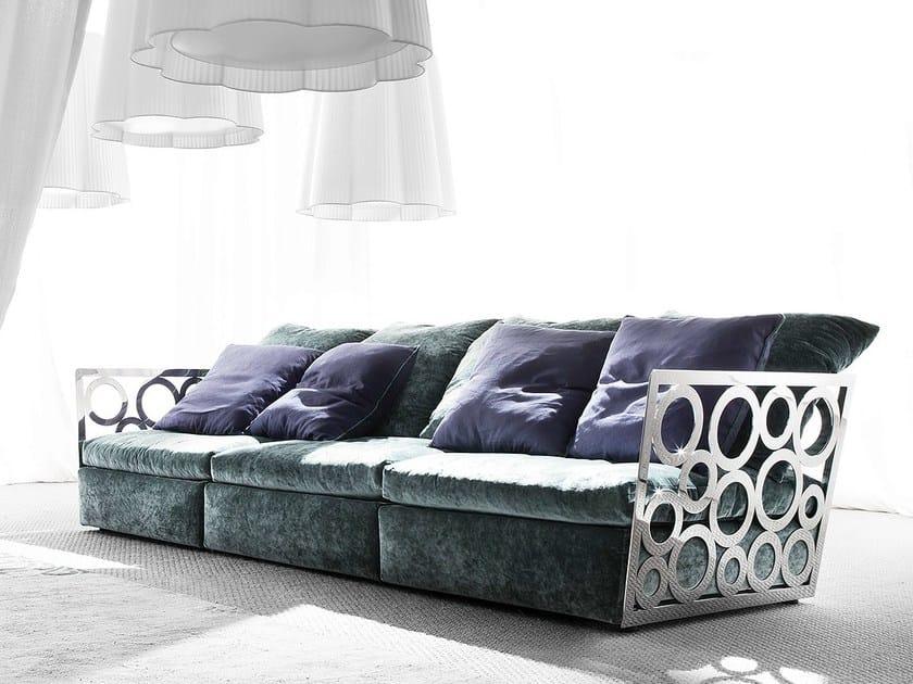 Sectional sofa NIRVANA by ERBA ITALIA