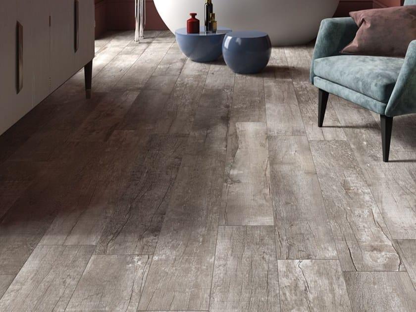 Pavimento/rivestimento in gres porcellanato a tutta massa effetto legno NIRVANA G by LaFaenza