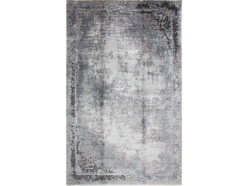Handmade rectangular rug NIRVANA TB 03 by EBRU