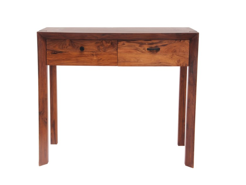 Teak console table / secretary desk NISHIT by ALANKARAM