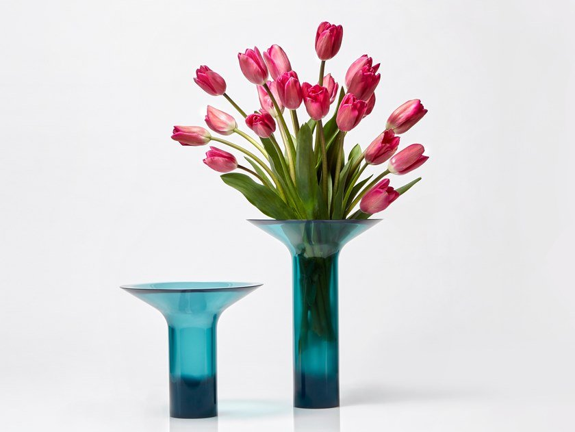 Cristalmood® vase NISI by Antonio Lupi Design