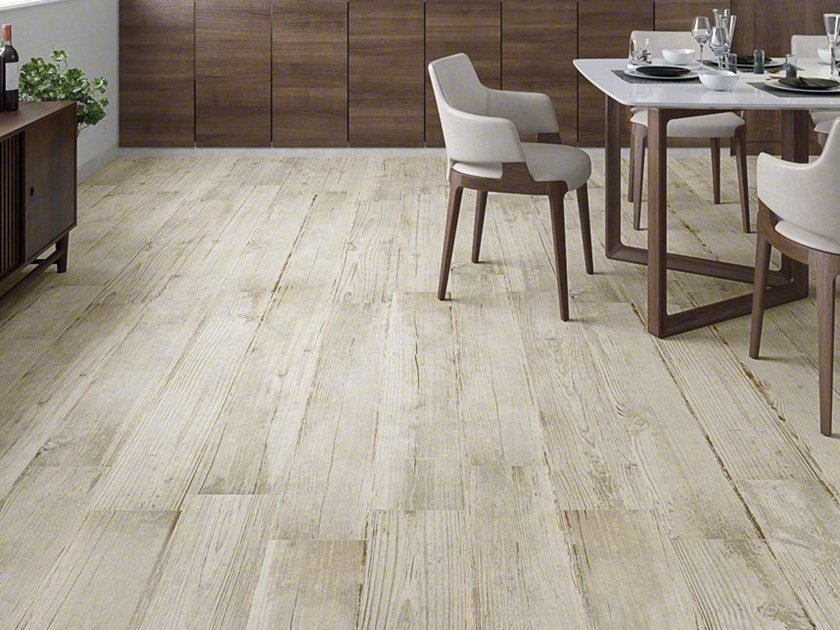 Porcelain stoneware wall/floor tiles with wood effect NIVALA by VIVES