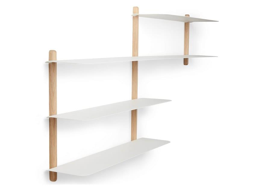 Nivo B Bücherregal Aus Eichenholz Kollektion Nivo By Gejst Design