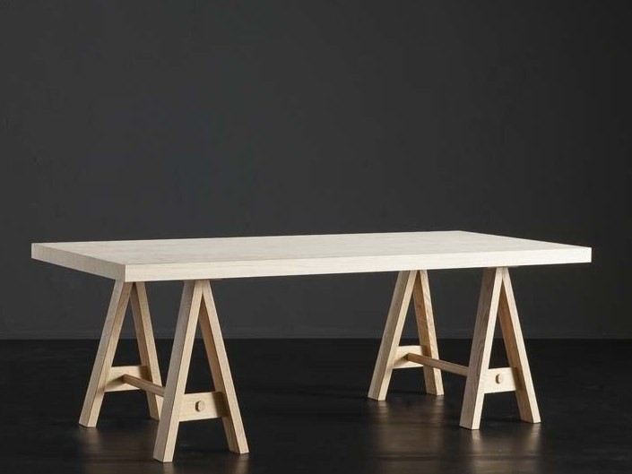 Rectangular wooden dining table NIZZA + HORSE by AltaCorte
