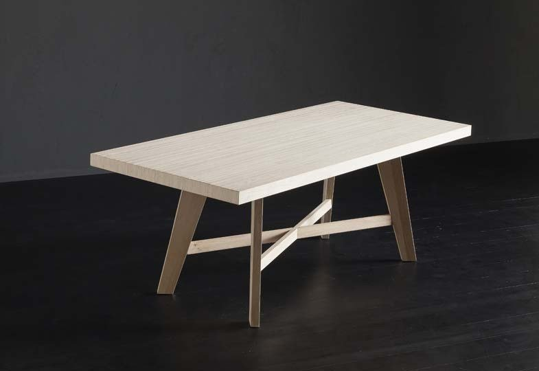 Rectangular wooden dining table NIZZA + PECHINO by AltaCorte
