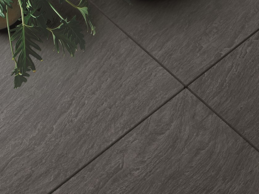 Porcelain stoneware wall/floor tiles NO-CODE LAVAGNA ANTRACITE by Viva by Emilgroup