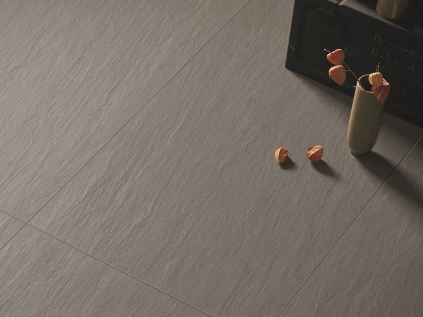 Porcelain stoneware wall/floor tiles NO-CODE LAVAGNA GRIGIO by Viva by Emilgroup