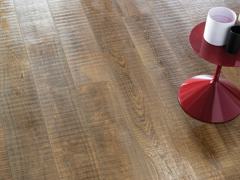 Porcelain stoneware wall/floor tiles with wood effect NO-CODE LEGNO ROVERE by Viva by Emilgroup