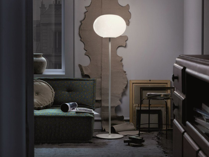 Blown glass floor lamp NOA | Floor lamp by Lucente