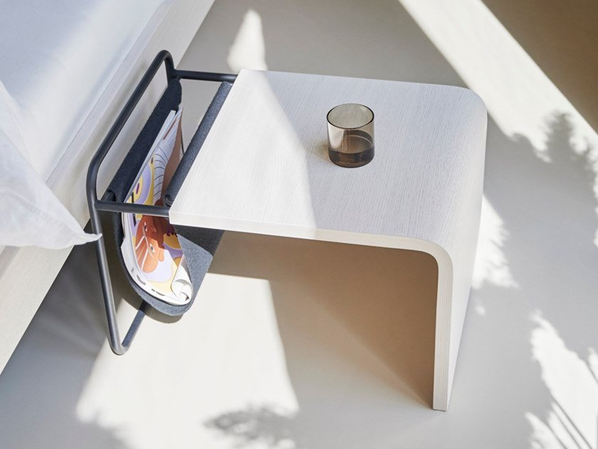 Beech coffee table / bedside table NOA | Bedside table by Auping