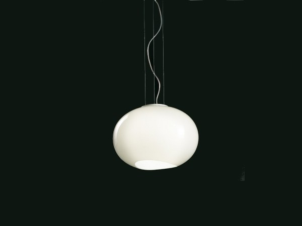 Blown glass pendant lamp NOA | Pendant lamp by Lucente