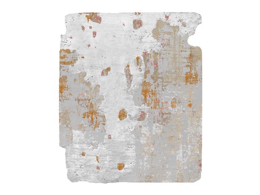 Handmade rug NOBU HALLEVIK RAW ICE CUT by HENZEL STUDIO