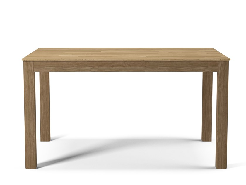 Rectangular wooden dining table NODE 90x140 by Bolia