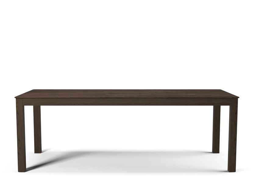Rectangular wooden dining table NODE 90x220 by Bolia