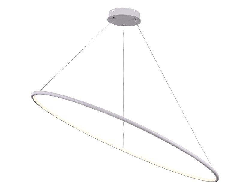 Indirect light metal pendant lamp NOLA | LED pendant lamp by MAYTONI