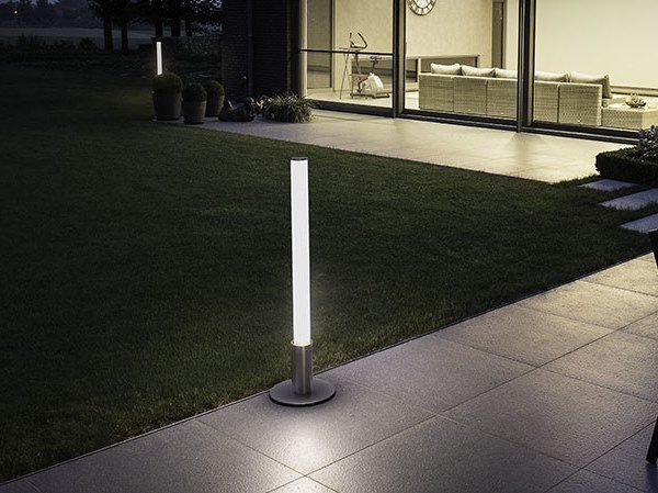 LED metal bollard light NOMAD 2 by BEL-LIGHTING