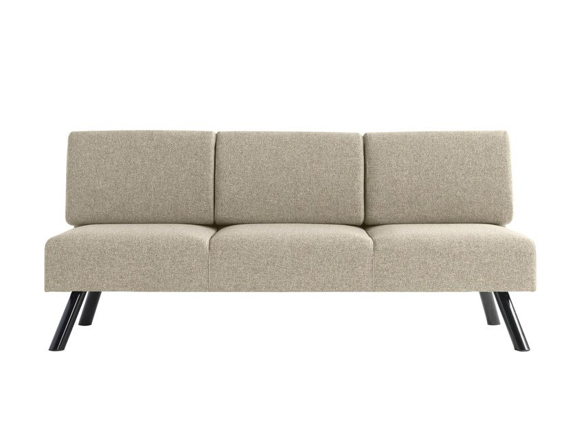 3 seater fabric sofa Nomad 823 by Metalmobil