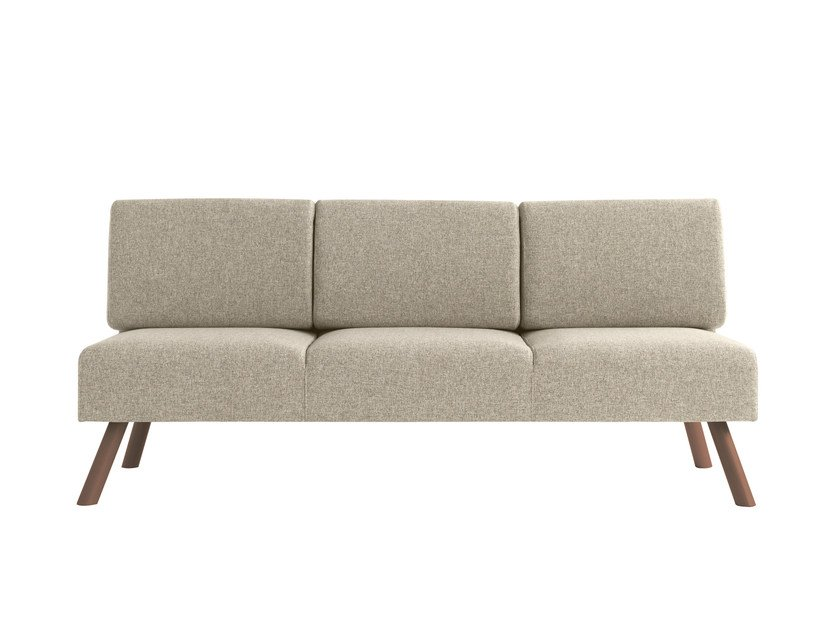 3 seater fabric sofa Nomad 827 by Metalmobil