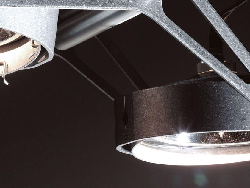 Modular Nomad Lamp : Halogen adjustable ceiling spotlight nomad nomad collection by