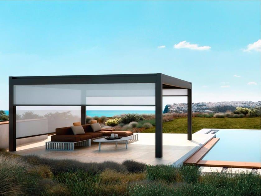 Terrassenuberdachung Alu Freistehend ~ Freistehende terrassenüberdachung aus aluminium nomo