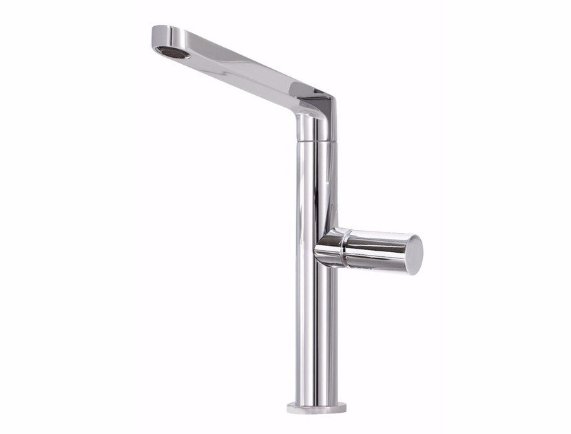 Chromed brass washbasin mixer NOMOS GO F4161 L | Washbasin mixer by FIMA Carlo Frattini