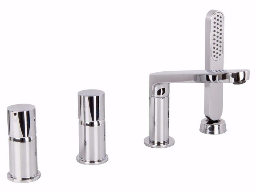 4 hole bathtub tap NOMOS GO F4174 | Bathtub tap by FIMA Carlo Frattini