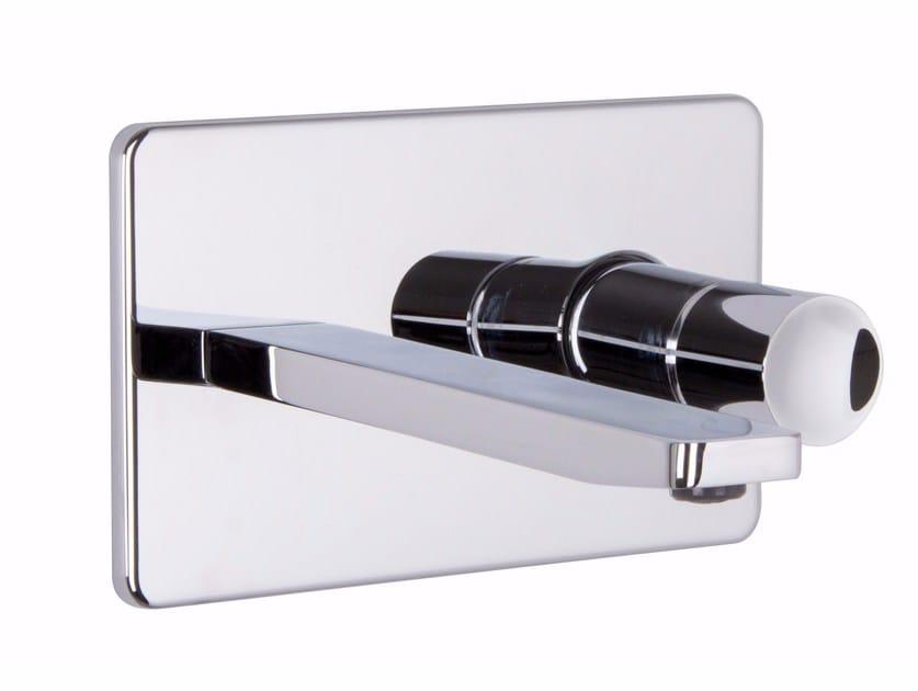 Wall-mounted chromed brass washbasin mixer NOMOS GO F4201X5 | Washbasin mixer by FIMA Carlo Frattini