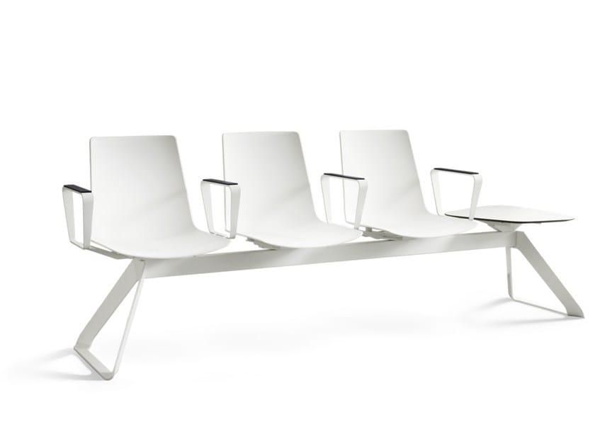 Polypropylene bench NOOI | Polypropylene bench by Wiesner-Hager