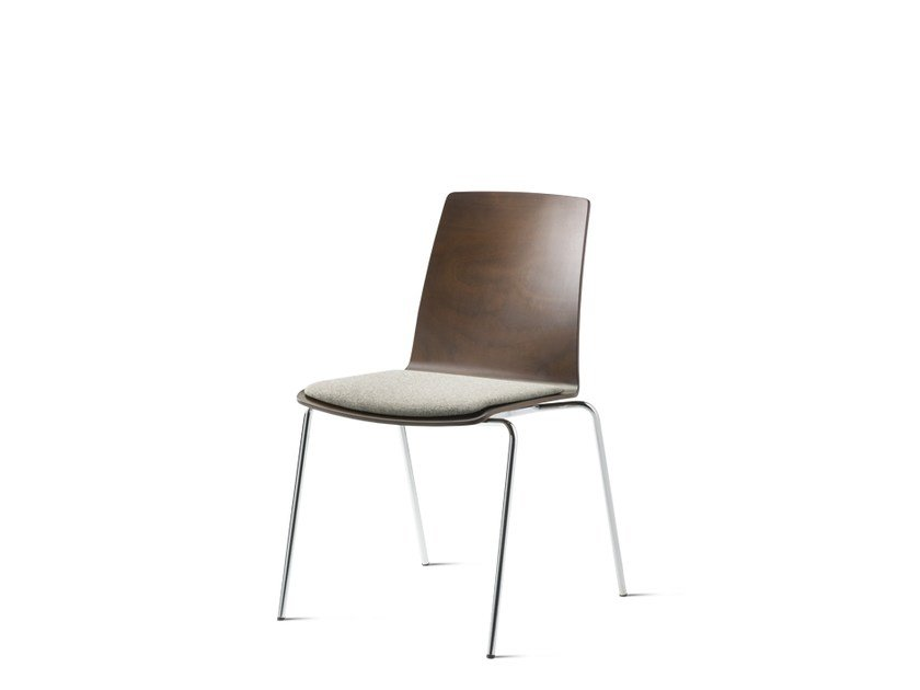 Stackable wooden chair NOOI | Wooden chair by Wiesner-Hager