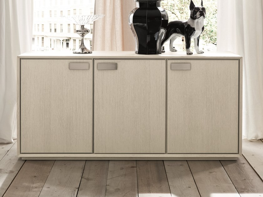 Oak sideboard with doors NOOK | Sideboard by AltaCorte
