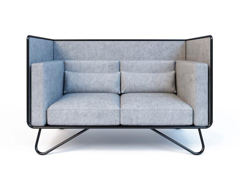 2 seater fabric sofa NOOOK 2 | 2 seater sofa by Aliticon