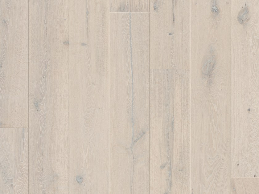 Brushed oak parquet NORDIC POLAR OAK by Pergo