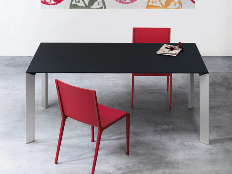 Table Extensible Aluminium NoriEn Kristalia By Design lFJTKc1