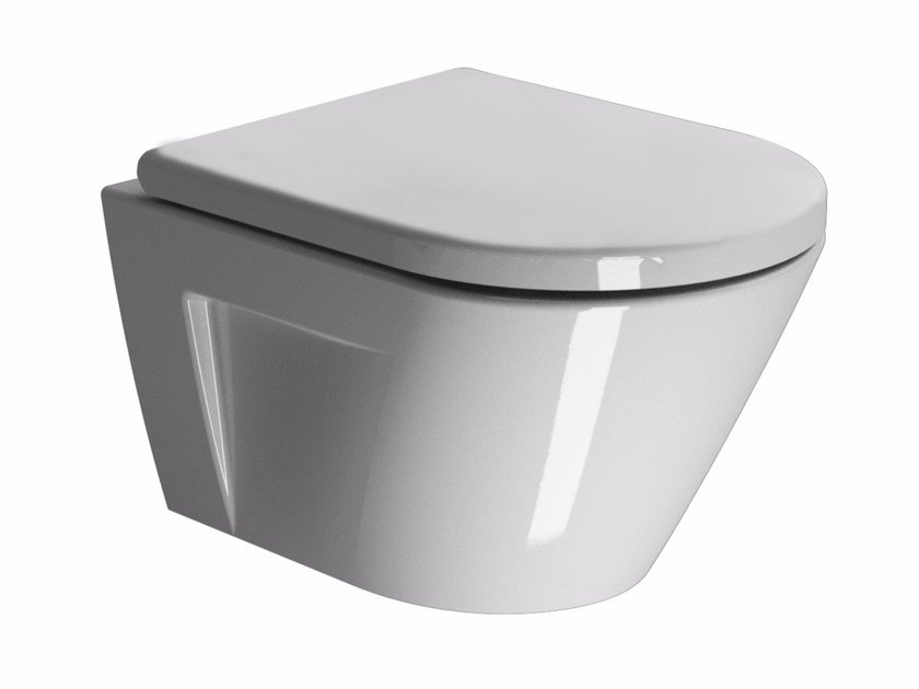 Wall-hung ceramic toilet NORM 50   Wall-hung toilet by GSI ceramica