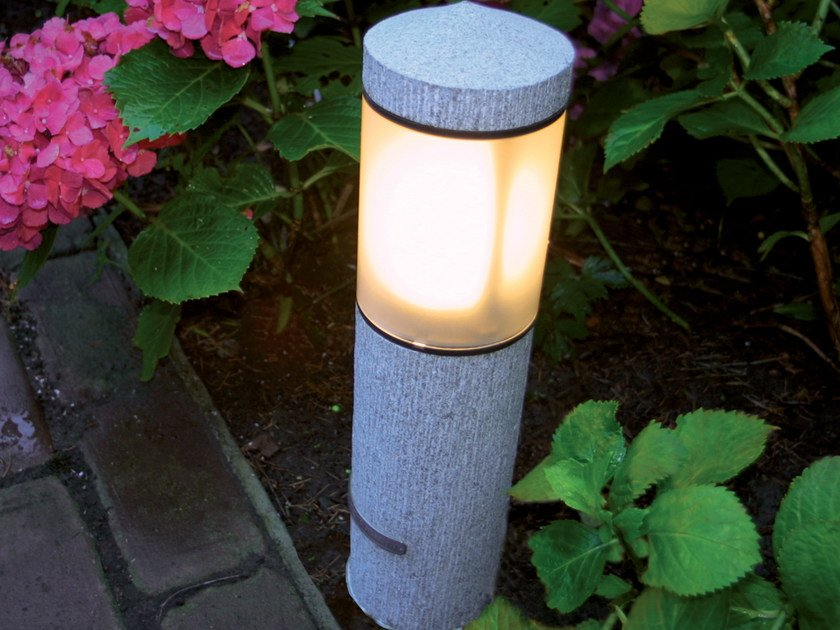 Granite bollard light NORTHPOLE | Granite bollard light by ROYAL BOTANIA