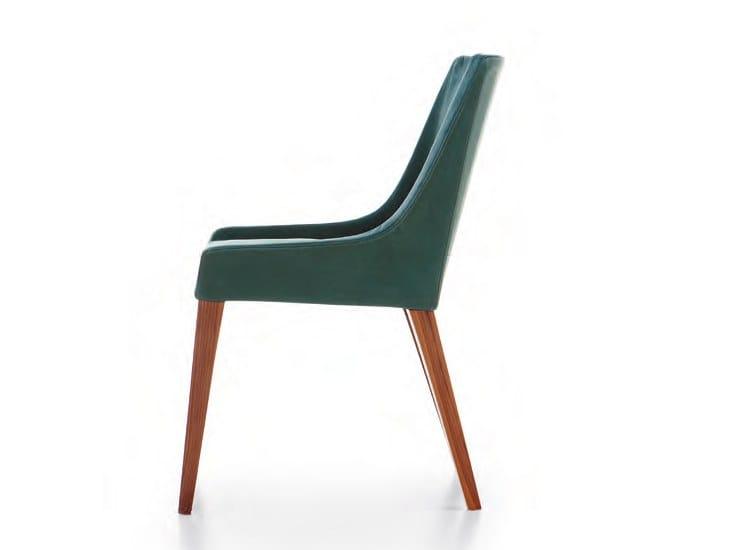 Upholstered velvet easy chair NOSS | Velvet easy chair by Cizeta L'Abbate