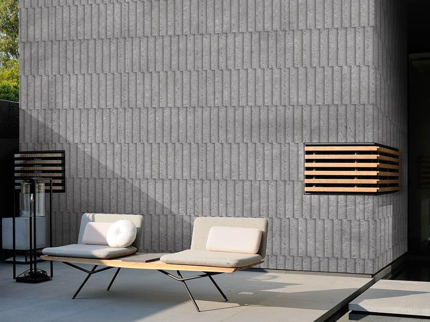 Outdoor wallpaper NOT A STROKE by Wall&decò