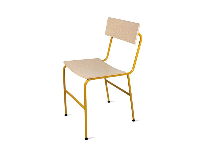 Wooden chair NOTA by Atipico