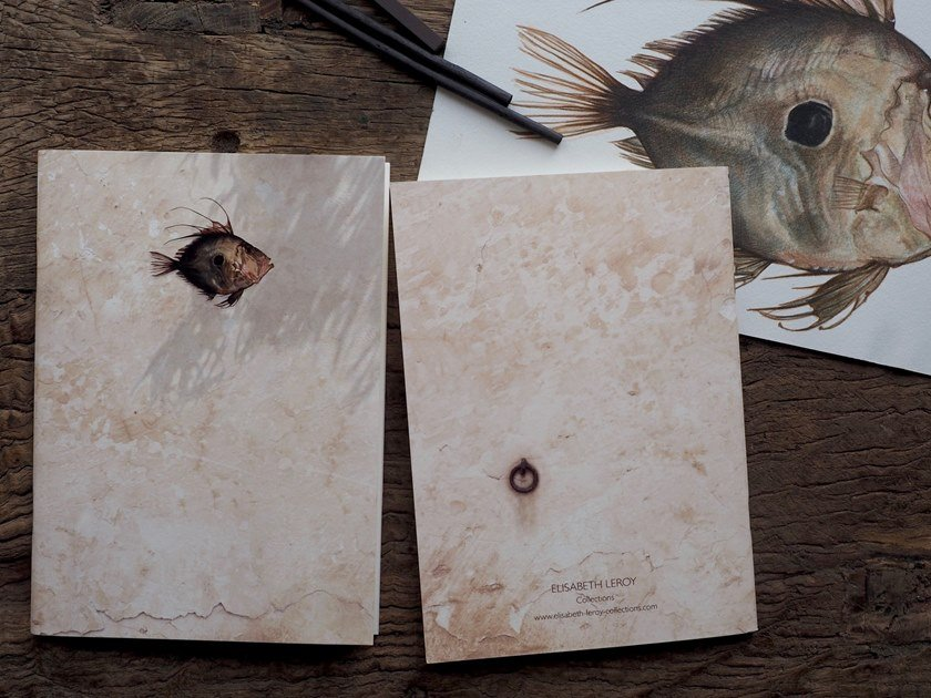 Paper notebook SYROS   Notebook by Elisabeth Leroy Collections