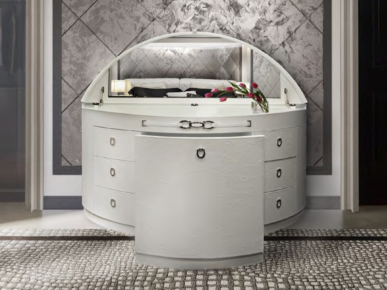 Mobile toilette in pelle NOTTING HILL | Mobile toilette by Formitalia