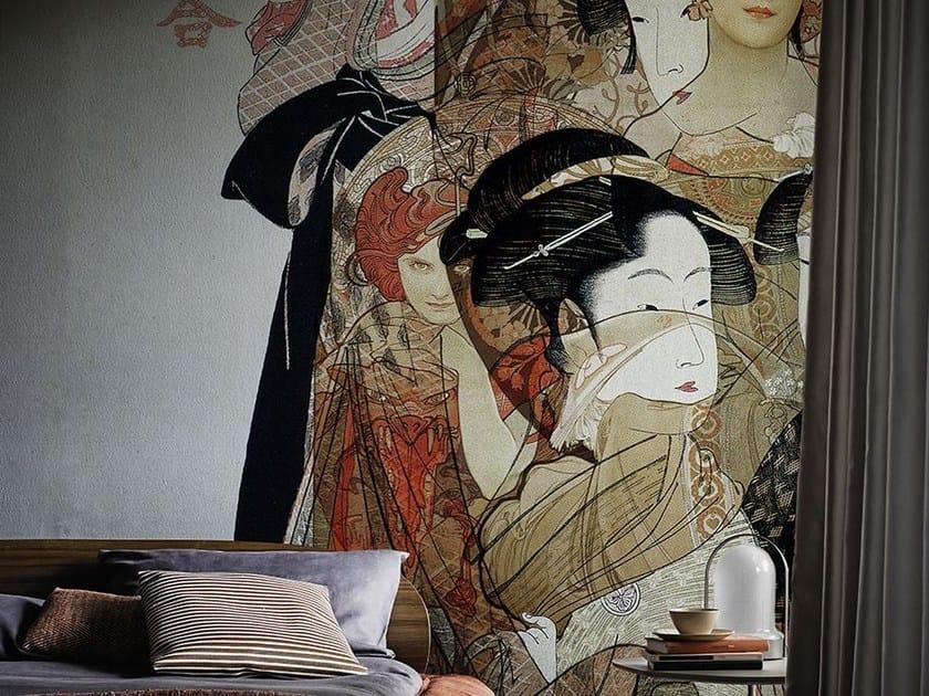 Wallpaper NOUVEAU GEISHA by Wall&decò