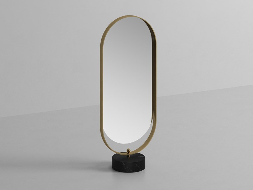 Countertop oval mirror NOUVEAU | Oval mirror by Ex.t